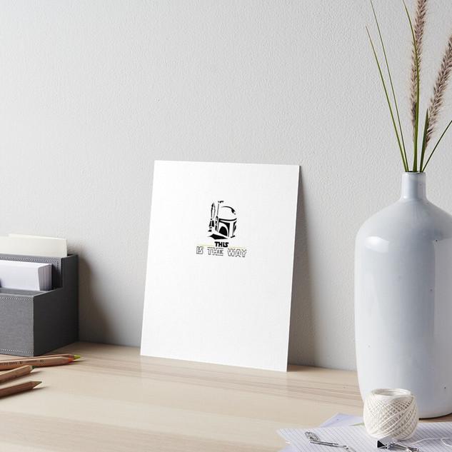 Mandalorian Art Board