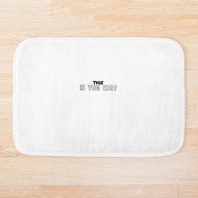 Mandalorian Bathroom Mat