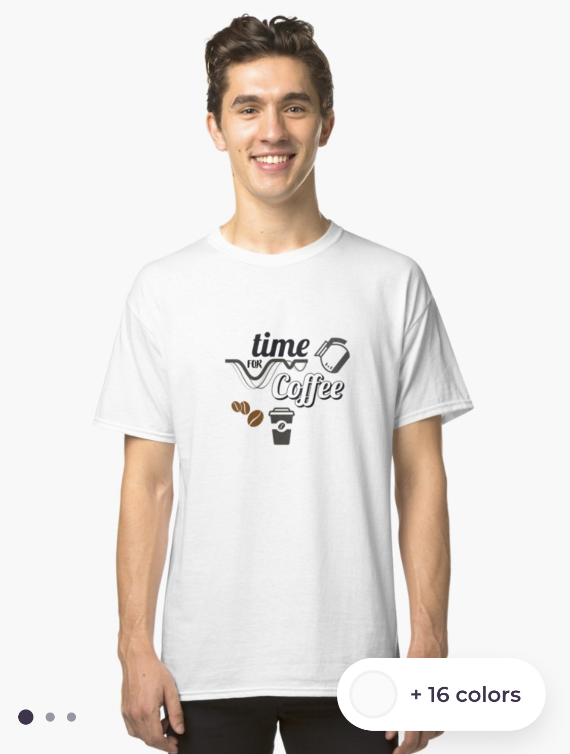 Time for Coffee T-Shirt Exclusive