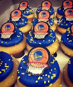 Warriors Cupcakes