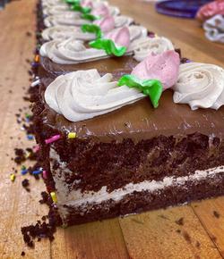 Mocha Cake Slices