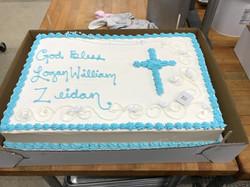 Full Sheet - Baptism Deco