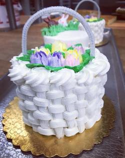 Easter Basket Smash Cake