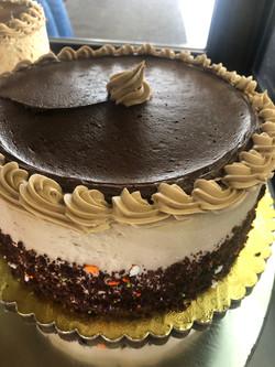 Chocolate Cake with Mocha