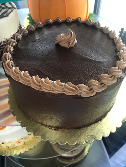 Chocolate Cake with Fudge