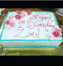 14x20 Sheet Cake
