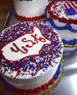 4th of July Smash Cakes