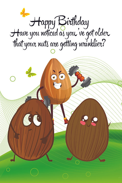 You're nuts!