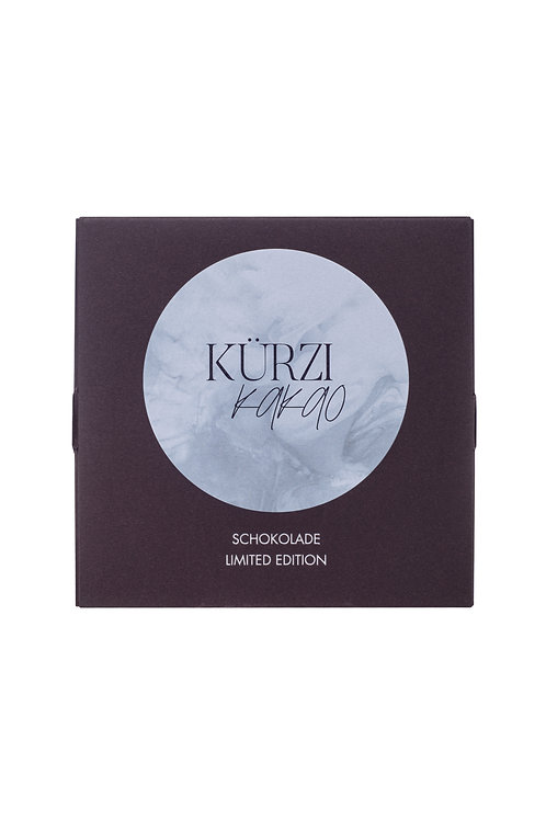 Dark chocolate, 75%, Reserva Zorzal with SMIQQL LavantaNane flaky salt
