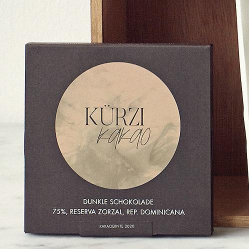 Dark chocolate 75%, Reserva Zorzal, Rep. Dominicana