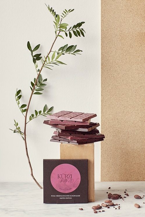 Pink Hibiscus Ginger Chocolate (collaboration with Soul Food by Aris)