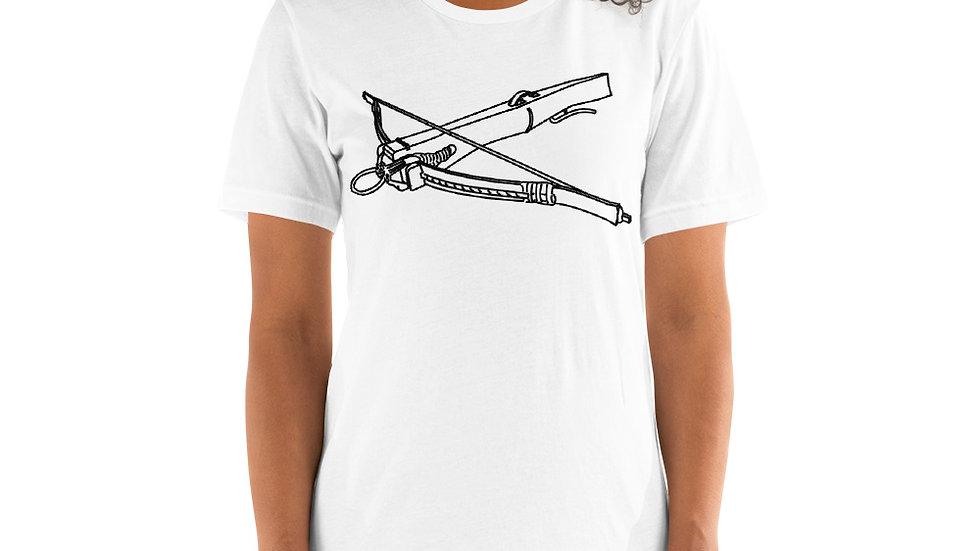 Short-Sleeve Unisex T-Shirt - Black text