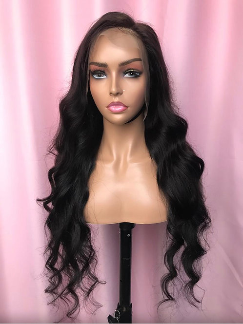13*4 Transparent Lace Frontal Wig