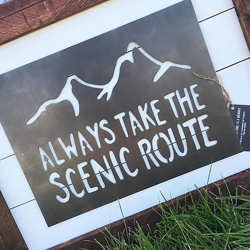 """Scenic Route (16"""" x 12"""")"""