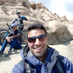 Mohammad in mountains around Tehran