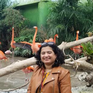 Ankita at Houston Zoo