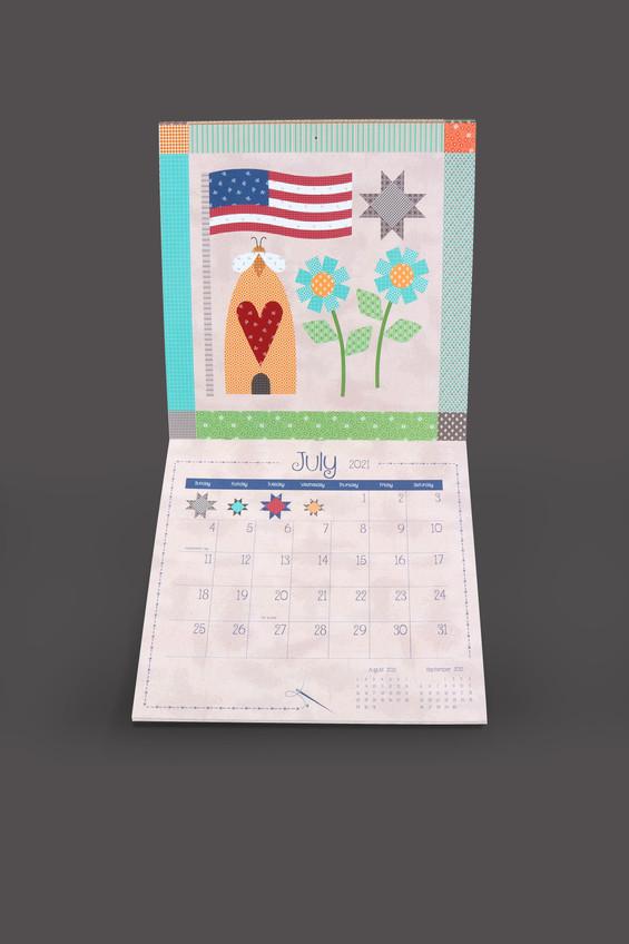 Lori Holt Prim Calendar_July