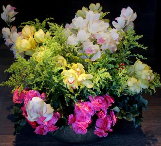 assintura de flores