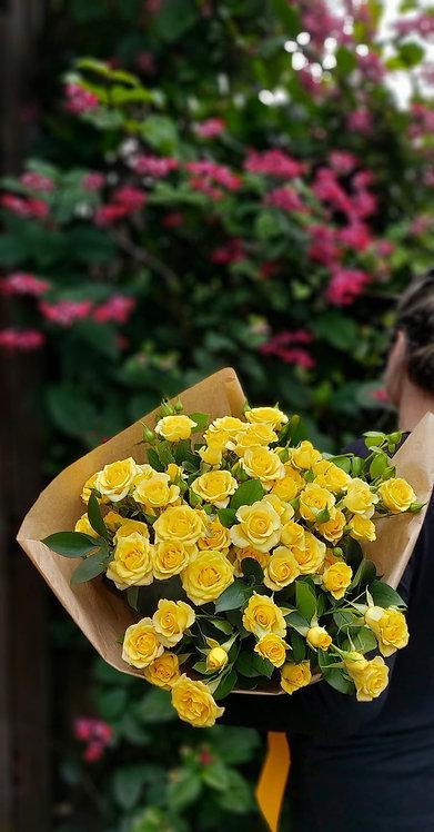 Ramalhete de Mini Rosas Naturais