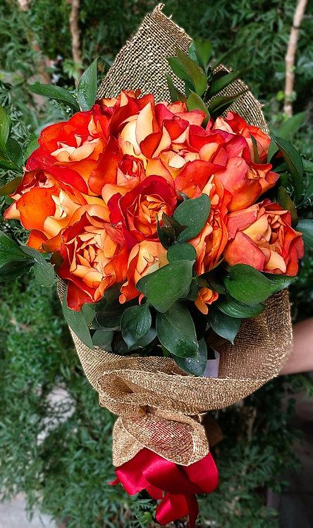 Ramalhete de Rosas.