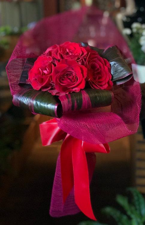Ramalhete com 06 Rosas Colombianas
