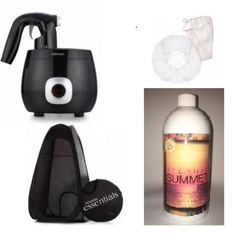 Tanning Business Professional Starter Pack with Pro V Spray Tan System+ Tent