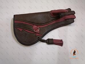 Eagle Glove 4 capas de piel de ciervo