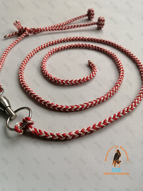BRIADED TETHERING SET(RED-WHITE)