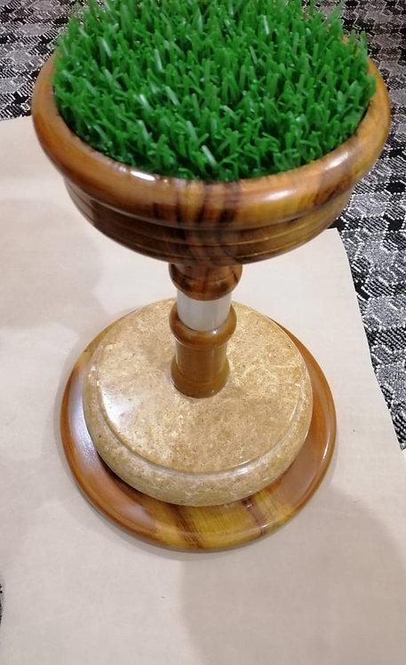 Indoor Wood+Marble Block