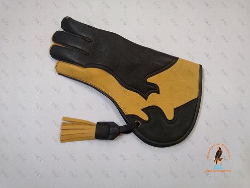 "Deer skin Falconry Glove 13"""