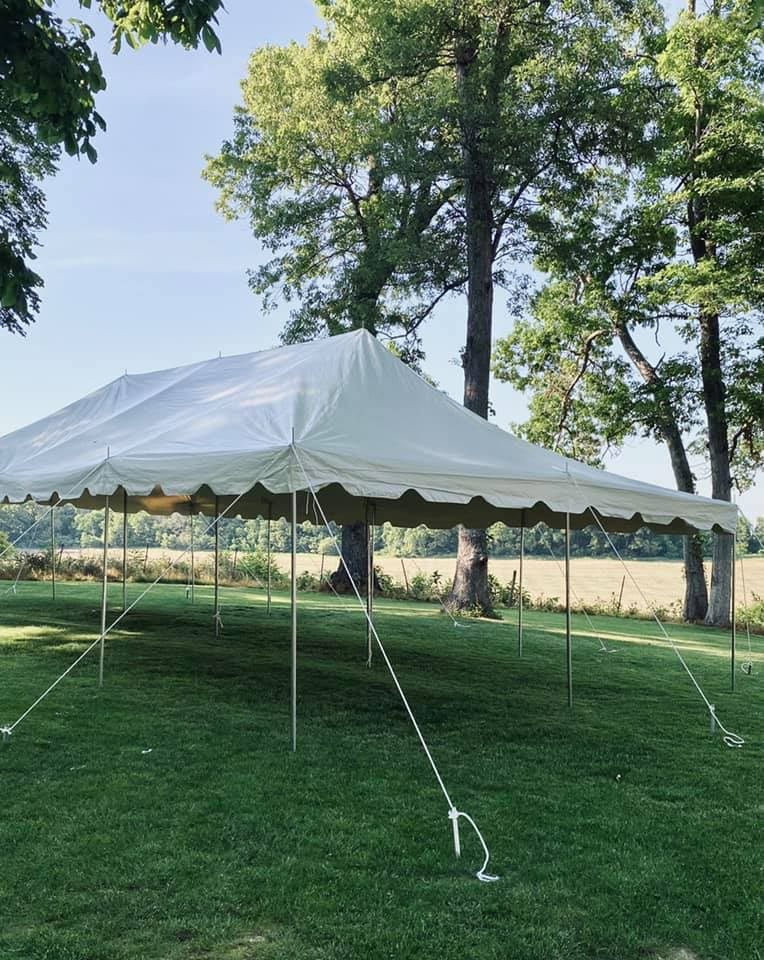 20 x 40 pole tent 2