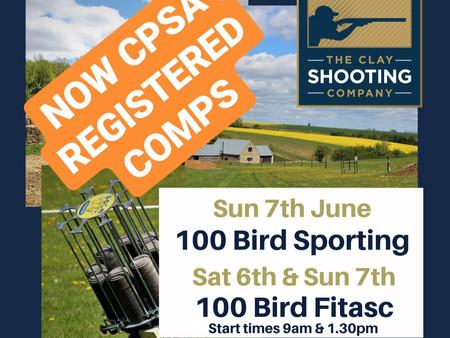CPSA Registered Shoots Return