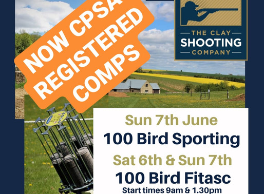 CPSA Registered Shoots Return