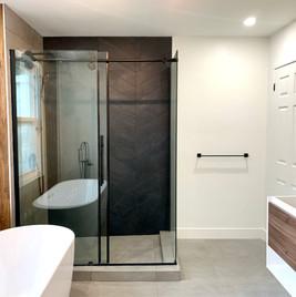 agrandissement et remise à neuf d'une salle de bain