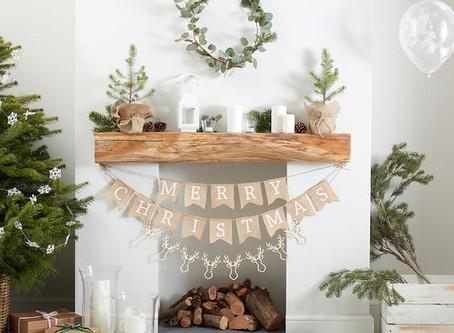 6 types de décorations économiques pour Noël 2019, dans une ambiance rustique et chaleureuse!