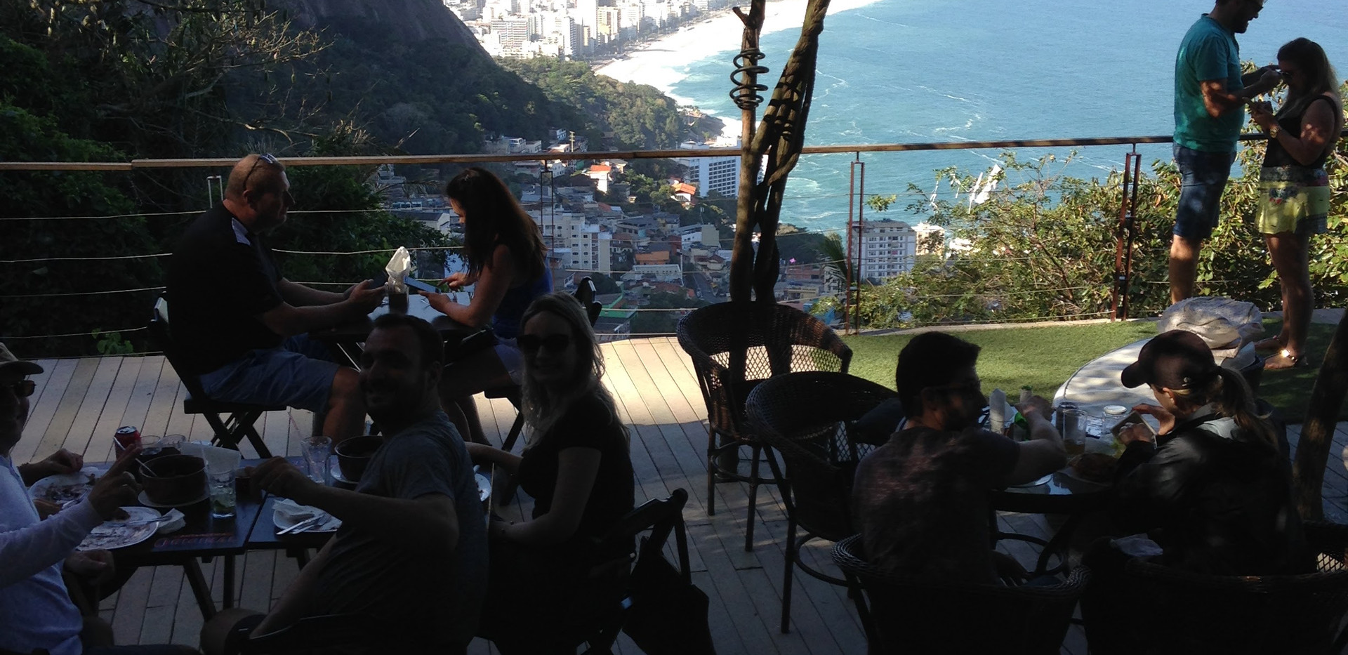 Bar on the Top of Vidigal Favela