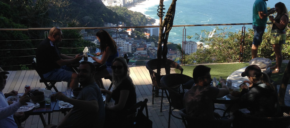 Bar on the Top of Vidigal Favela