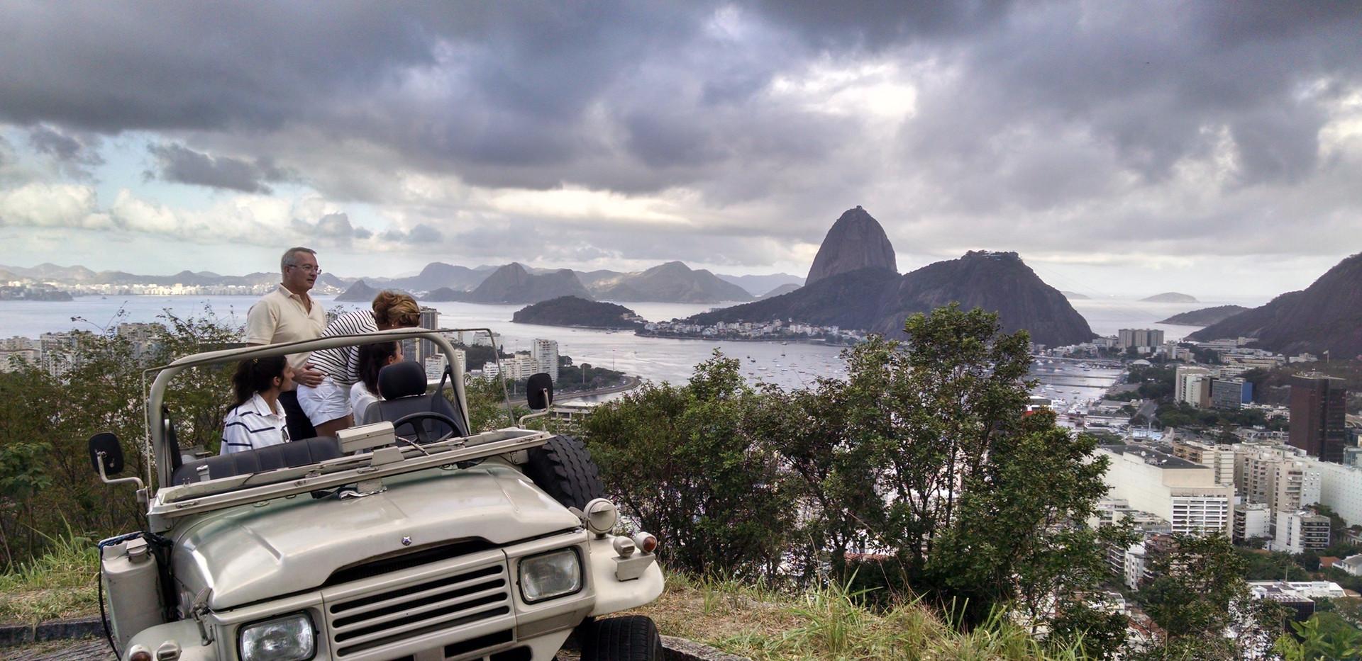 Visita a favela Santa Marta 2