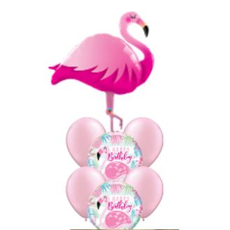 Flamingo - Balloon Bouquet
