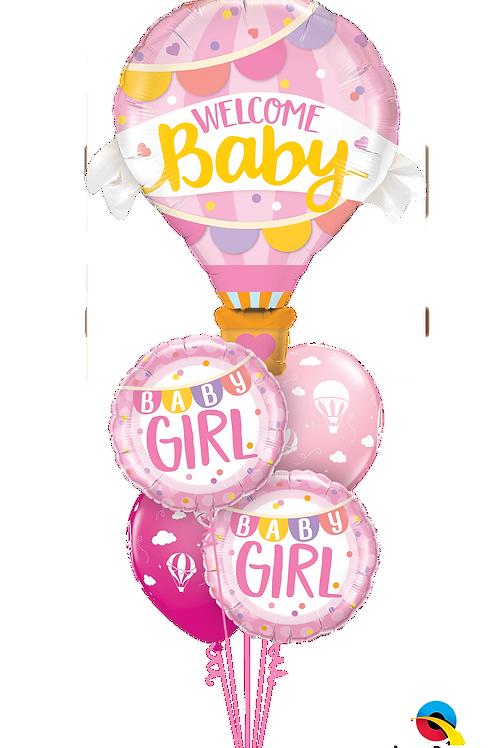 Baby Girl - Balloon Bouquet