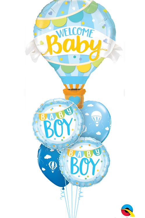 Baby Boy - Balloon Bouquet