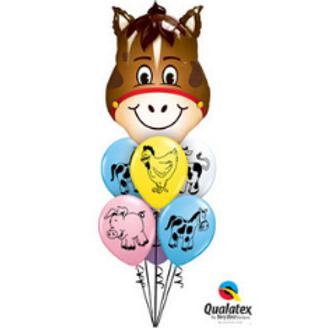 Old Macdonald's Farm - Balloon Bouquet