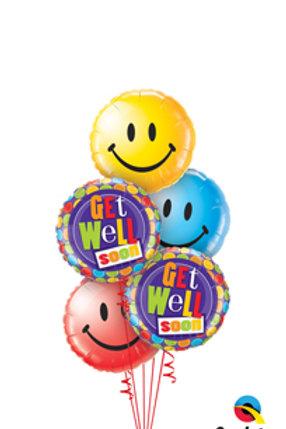 Get Well - Balloon Bouquet