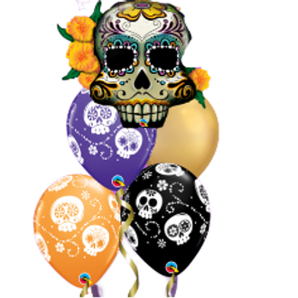 Day of the Dead- Balloon Bouquet
