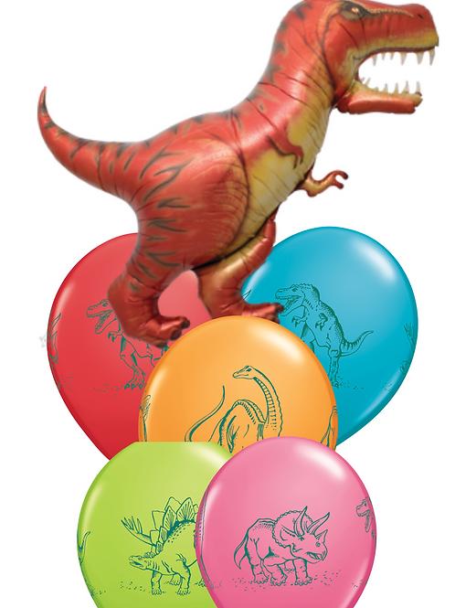Dinosaur- Balloon Bouquet
