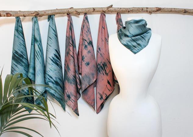Angela Stringer scarf collection