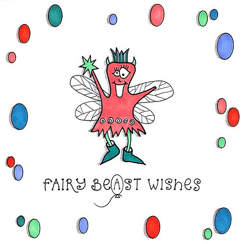 Fairy Beast Best Monster Humour Greeting Cards