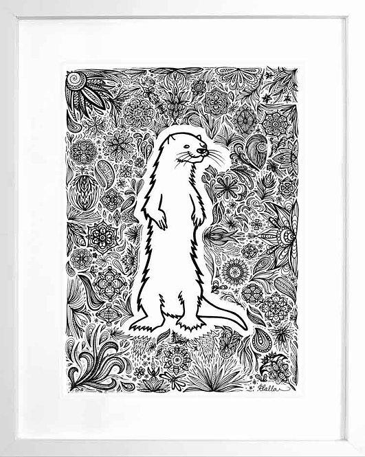 Patterned Otter