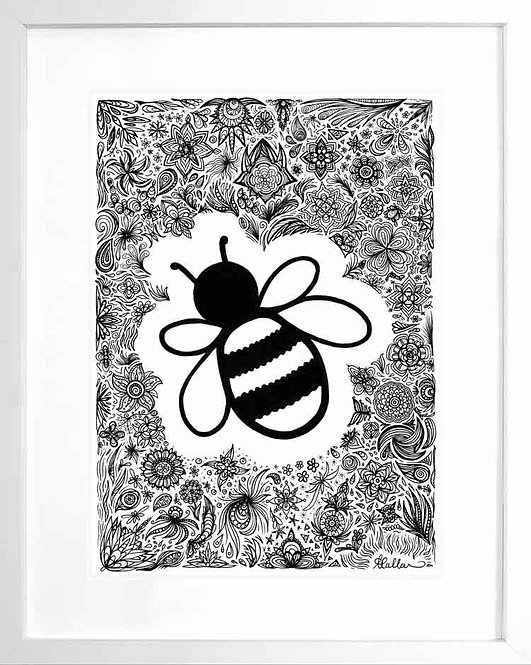 Patterned Bee