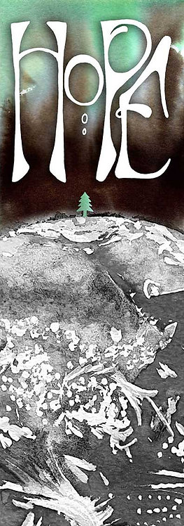 Hope World Art Christmas Card